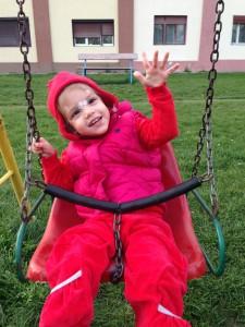 Bri 3 ani in parc